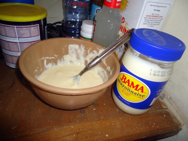 egg and mayo