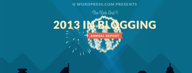 2013 Year in Blogging