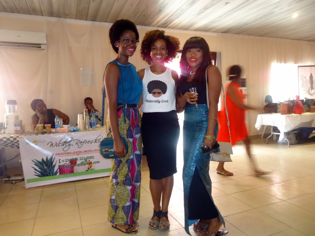 Us posing with Ijeoma of Klassy-Kinks