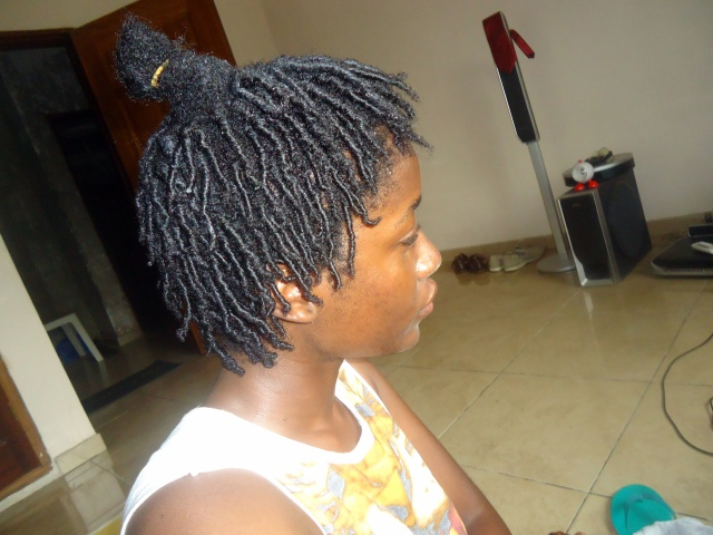 4C Hair- Natural hairstyles- Finger coils- Comb coils