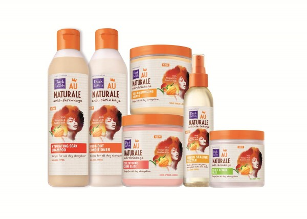 The full Dark & Lovely Au Naturale Anti-Shrinkage Line