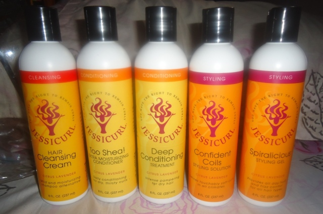 Jessicurl Confident Coils Collection + Spiralicious Styling Gel