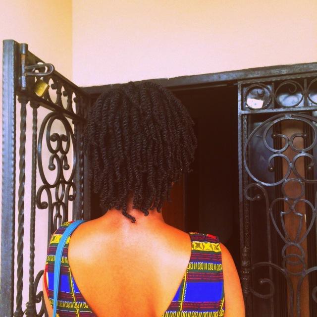 Day 5 hair.
