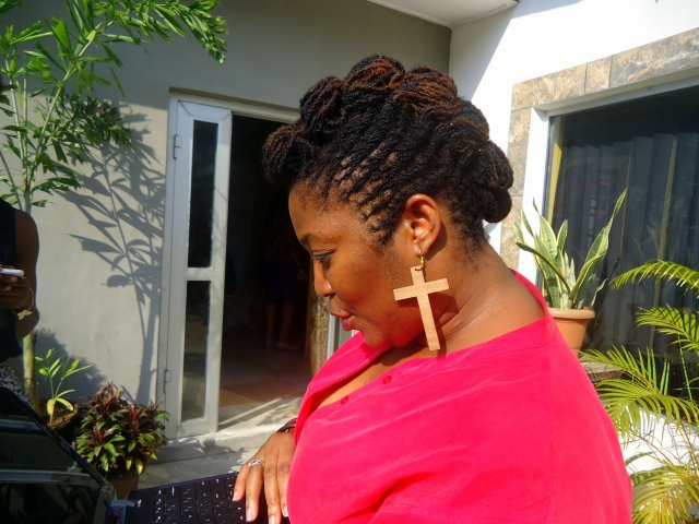Mosh of Naturalosity, with her beautiful sisterlocs!