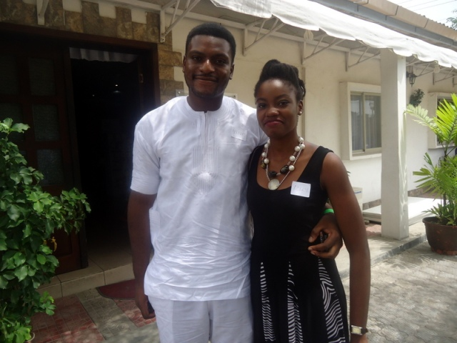 Cute Couple! Adaku & her bae