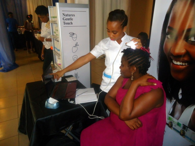 Free hair consultation with Ekemini of Nature's Gentle Touch Hair Institute