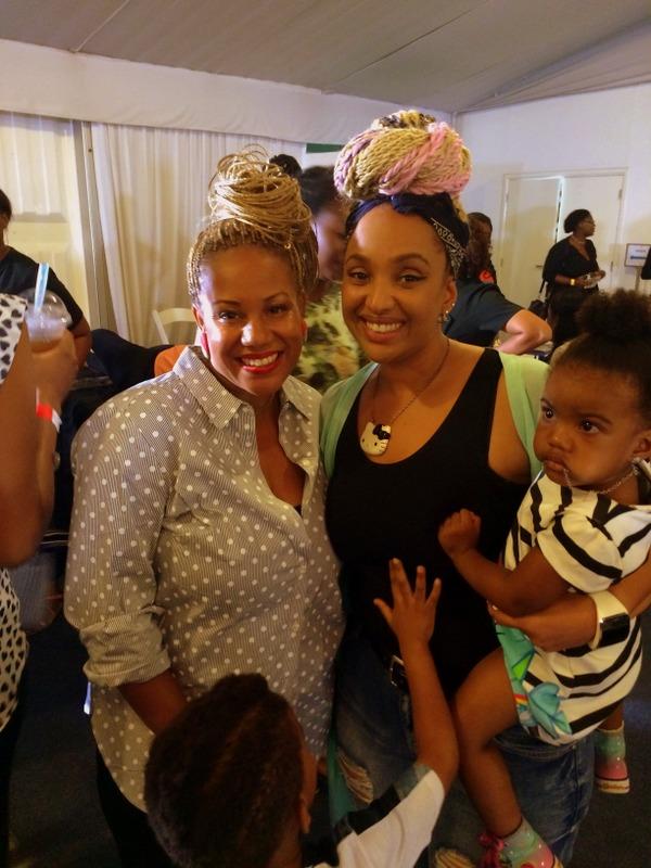 Felicia Leatherwood x Lola Maja-Okujevoh (Sacred Beauty Artistry) MeeMee thinks they look like twins
