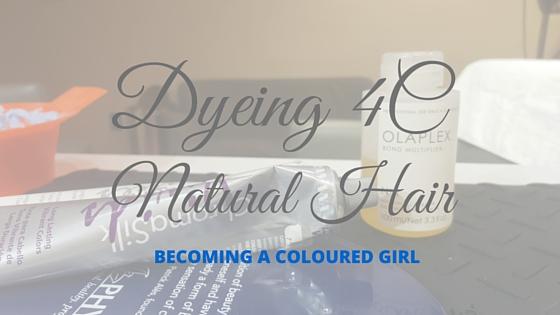 Dyeing+4C+Natural+Hair