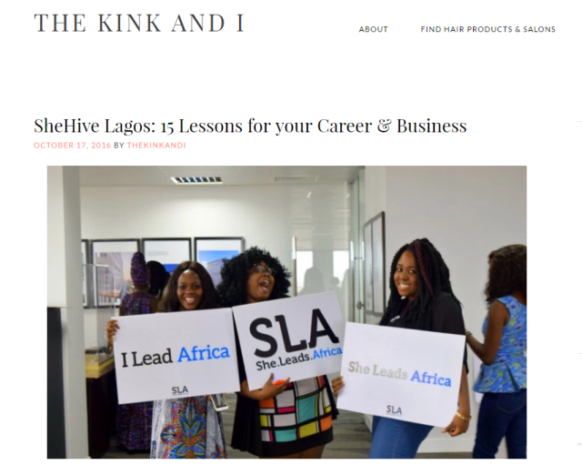 15 really helpful lessons from SheHive Lagos that could help you in your business and career